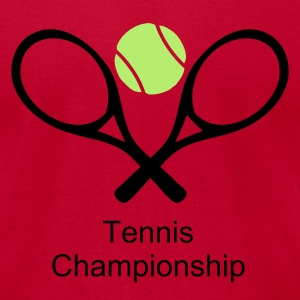 Lemon tennisball and raquets T-Shirts - Men's T-Shirt by American Apparel