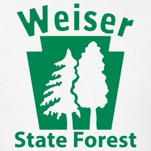 Weiser State Forest Keystone (w/trees) T-Shirts - Men's T-Shirt