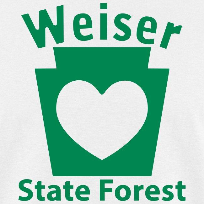 Weiser State Forest Keystone w/Heart