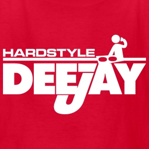 Red Hardstyle Deejay Kids' Shirts - Kids' T-Shirt