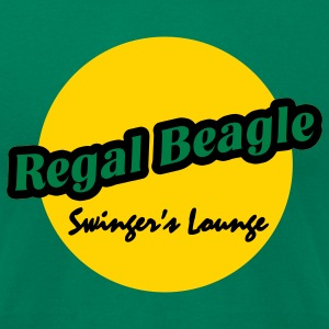 Kelly green Regal Beagle Lounge T-Shirts - Men's T-Shirt by American Apparel
