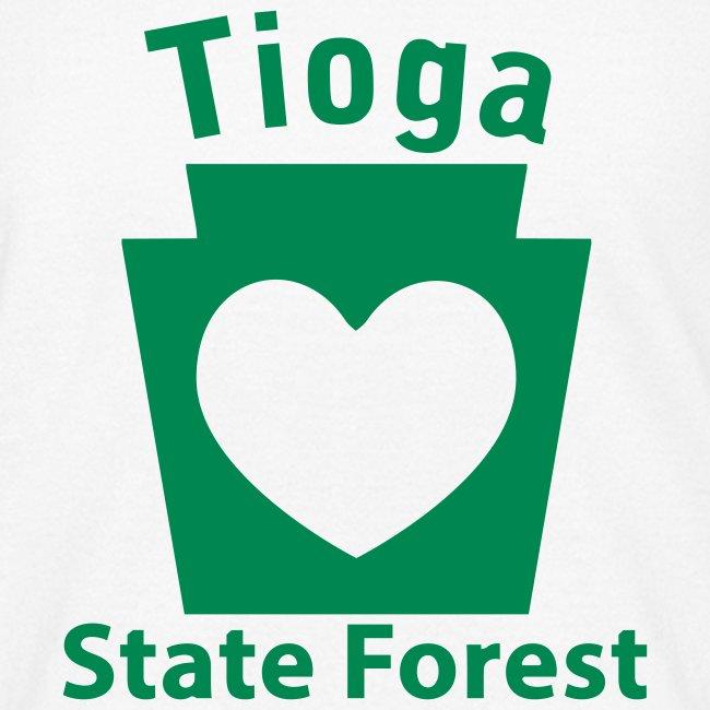Tioga State Forest Keystone Heart