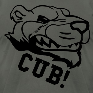 CUB! - Men's T-Shirt by American Apparel