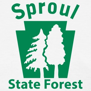 Sproul State Forest Keystone (w/trees) Women's T-Shirts - Women's T-Shirt