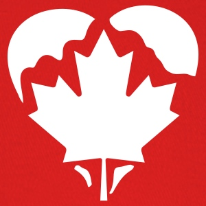 Red Canada Heart Caps - Baseball Cap