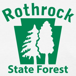Rothrock State Forest Keystone (w/trees) Women's T-Shirts - Women's T-Shirt