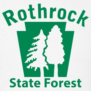 Rothrock State Forest Keystone (w/trees) T-Shirts - Men's T-Shirt