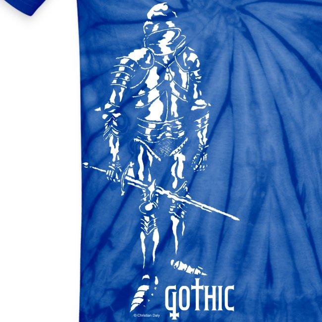 Men's Gothic Knight Tie Dye