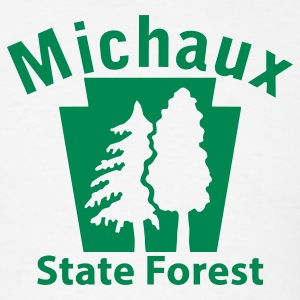 Michaux State Forest Keystone (w/trees) T-Shirts - Men's T-Shirt