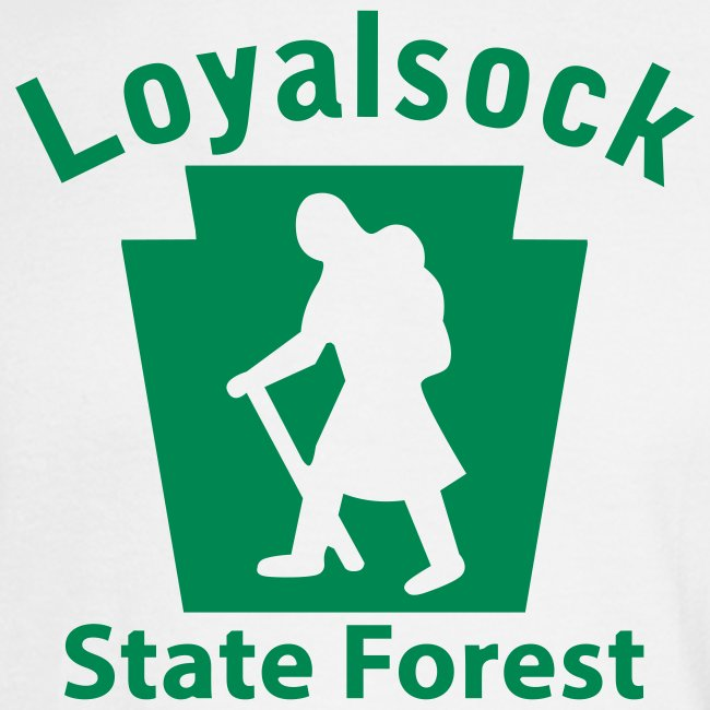 Loyalsock State Forest Keystone Hiker (female)