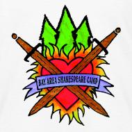 Design ~ Kids' Bay Area Shakespeare Camp Color Logo Basic Tee