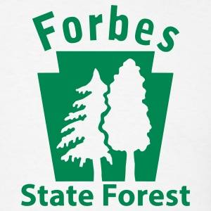 Forbes State Forest Keystone (w/trees) T-Shirts - Men's T-Shirt