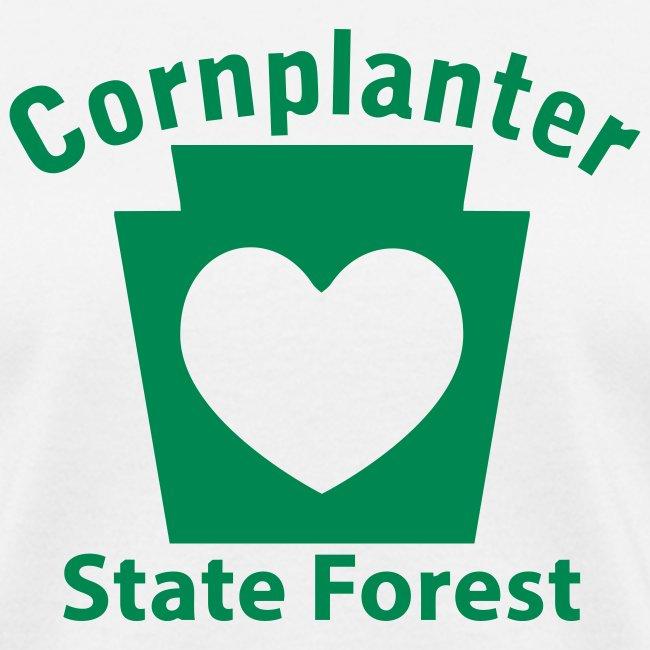 Cornplanter State Forest Keystone Heart