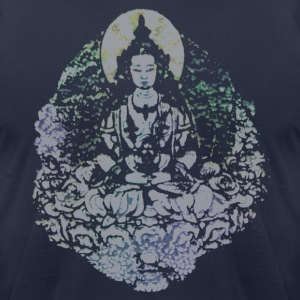 Japanese Buddha Men's AA Tee - Men's T-Shirt by American Apparel