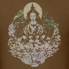 Japanese Buddha Men's Standard Weight T-Shirt