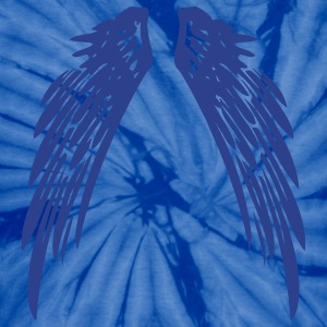 Spider baby blue wings_1c_us T-Shirts - Unisex Tie Dye T-Shirt