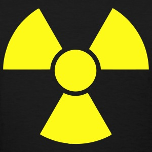 Black Radioactive Sign 2 Women's T-Shirts - Women's T-Shirt
