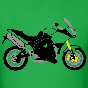 Bright green Triumph Tiger 1050 T-Shirts - Men's T-Shirt