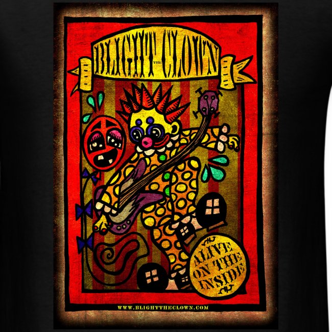 Blight the Clown Sideshow Banner TSHirt
