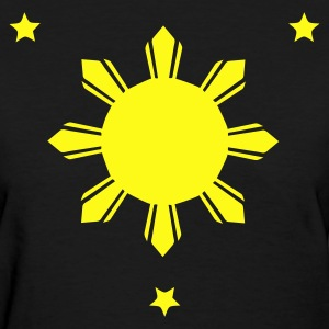 Philippines Sun and Stars T-shirt - Women's T-Shirt