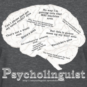 Psycholinguistics Brain - Women's T-Shirt