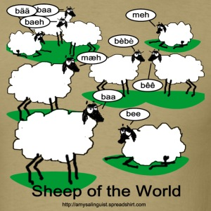 Sheep of the World - Men's T-Shirt