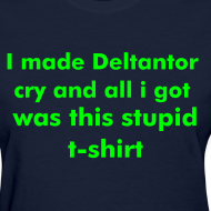Design ~ Deltantor shirt (Womens) Standard Weight