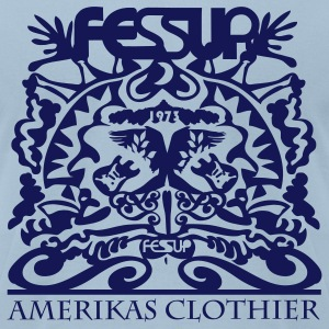 FESUP AMERIKAS CLOTHIER FLOCK PRINT TEE - Men's T-Shirt by American Apparel