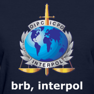 Design ~ brb, interpol (Womens) Standard Weight