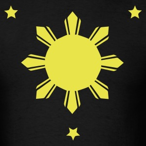 Philippines Sun and Stars T-shirt - Men's T-Shirt