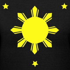 Philippines Sun and Stars T-shirt
