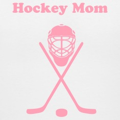 White hockey Women's T-Shirts