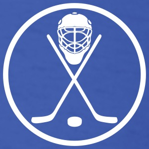 Royal blue hockey circle T-Shirts - Men's T-Shirt