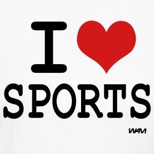 I love tennis long sleeve shirts spreadshirt for I love sports t shirt