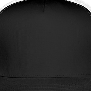 Black rock_wing_skull_3c T-Shirts - Trucker Cap