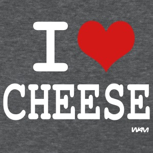 Deep heather i love cheese by wam Women's T-Shirts - Women's T-Shirt