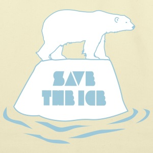 save the ice bag - Eco-Friendly Cotton Tote