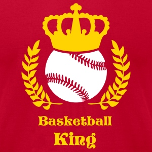 Red baseball kings champions T-Shirts - Men's T-Shirt by American Apparel