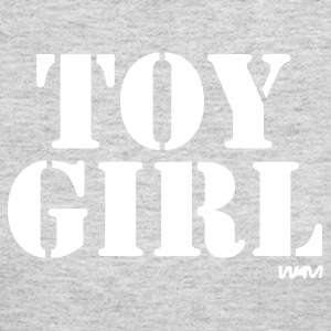 Gray toy girl by wam Long Sleeve Shirts - Women's Long Sleeve Jersey T-Shirt