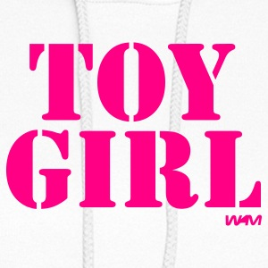 White toy girl by wam Hooded Sweatshirts - Women's Hoodie
