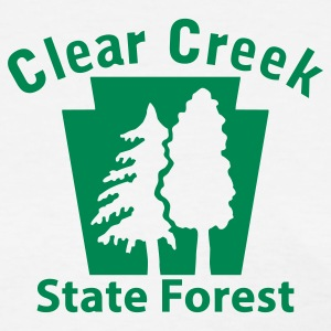 Clear Creek State Forest Keystone (w/trees) Women's T-Shirts - Women's T-Shirt