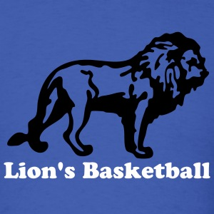 Royal blue Custom Lion for Sports T-Shirts - Men's T-Shirt