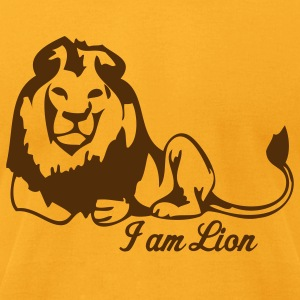 Gold lions T-Shirts - Men's T-Shirt by American Apparel
