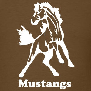 Brown stallions or mustangs T-Shirts - Men's T-Shirt