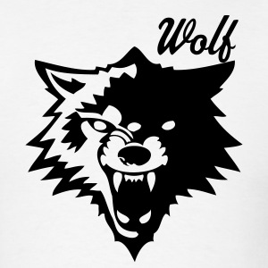 White wolf or wolverines? T-Shirts - Men's T-Shirt