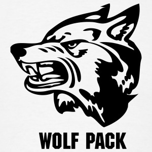 White wolf wolves or wolverine? T-Shirts - Men's T-Shirt