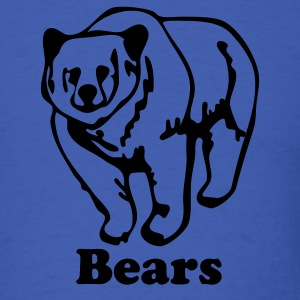 Royal blue bear T-Shirts - Men's T-Shirt
