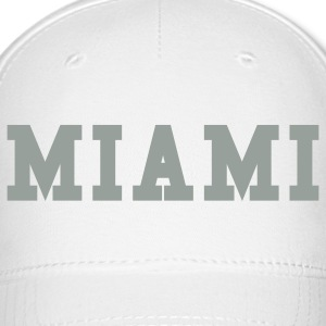 White miami by wam Caps - Baseball Cap