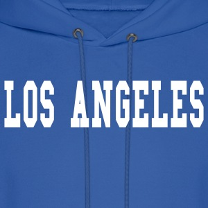 Royal blue los angeles by wam Hoodies - Men's Hoodie