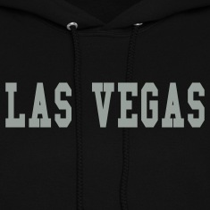 Black las vegas by wam Hooded Sweatshirts